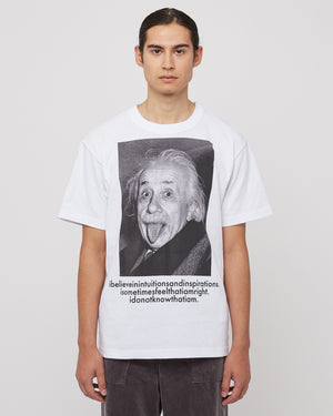 Einstein T-Shirt in White