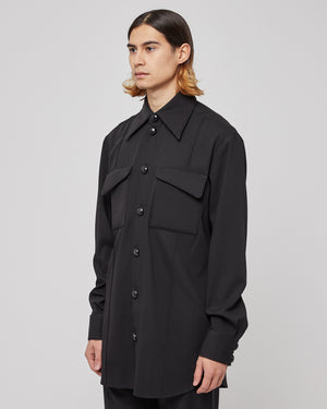Elster Shirt in Onyx Black
