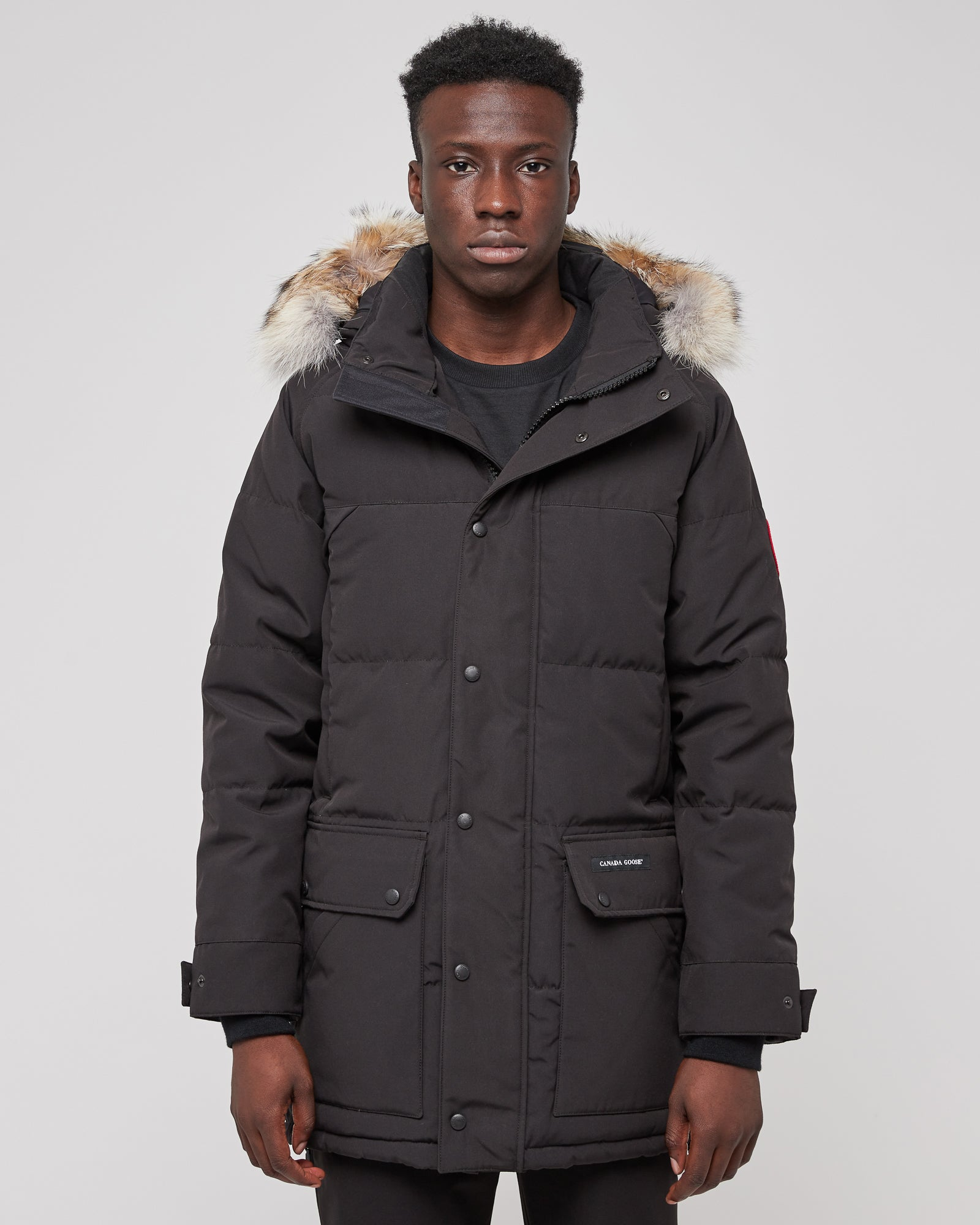 Emory Parka in Black