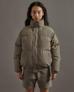 Puffer Jacket in Umber