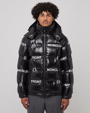 Fragment Mayconne Bomber in Black