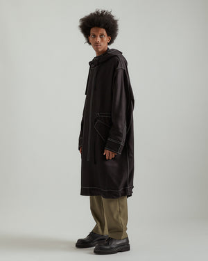 Frieze Parka in Black