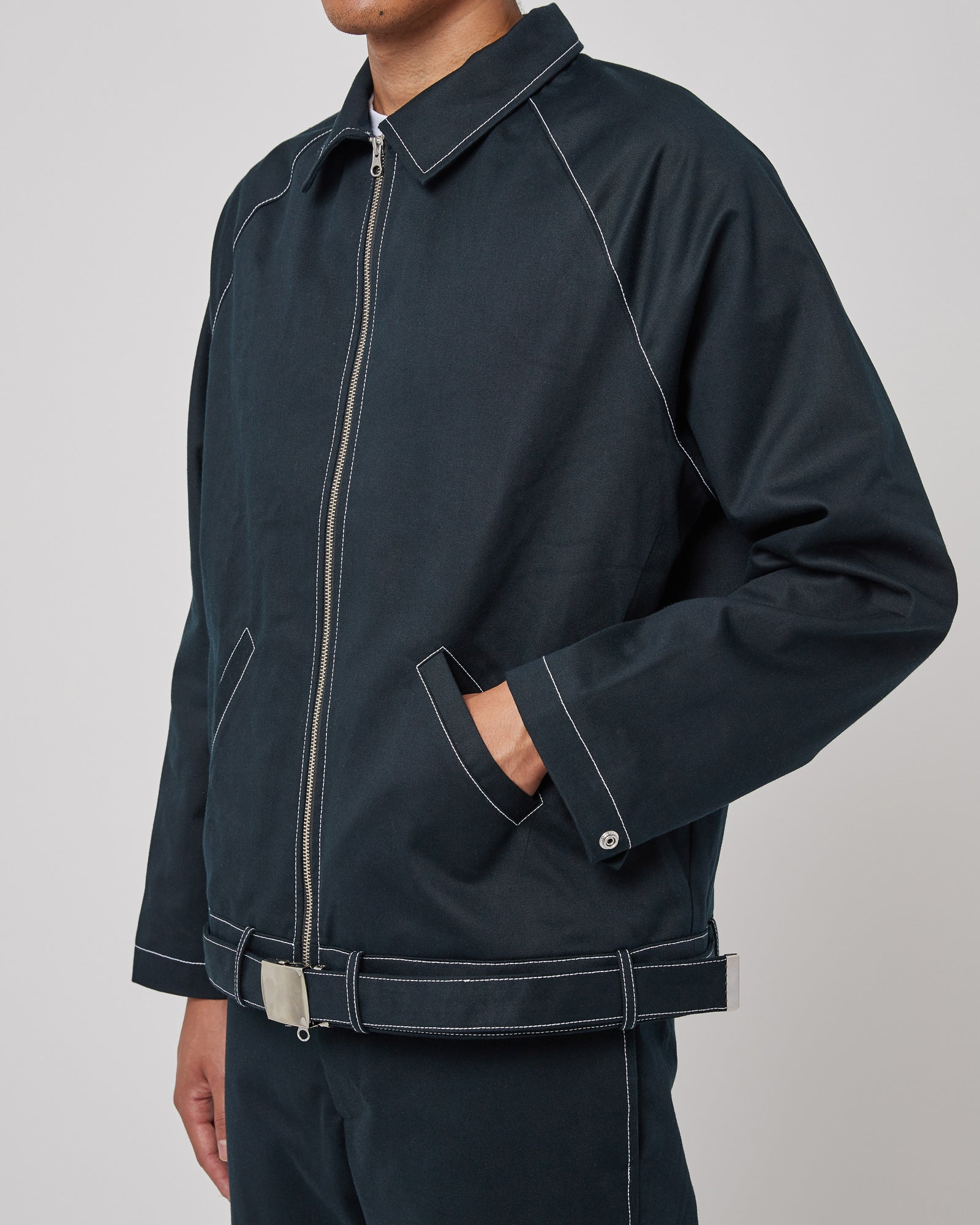 Full Service Sunday Coach Jacket in Black