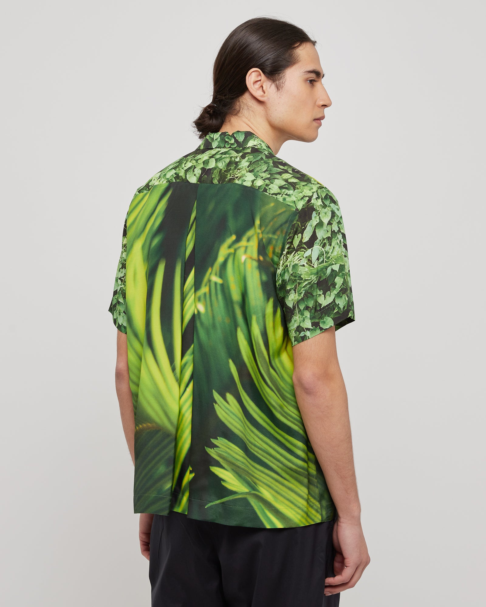 Camp Shirt in Leaves
