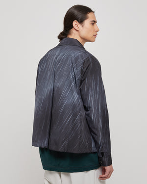 Coach Jacket in Rainy Sky