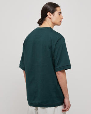 Oversized T-Shirt in Forest Green