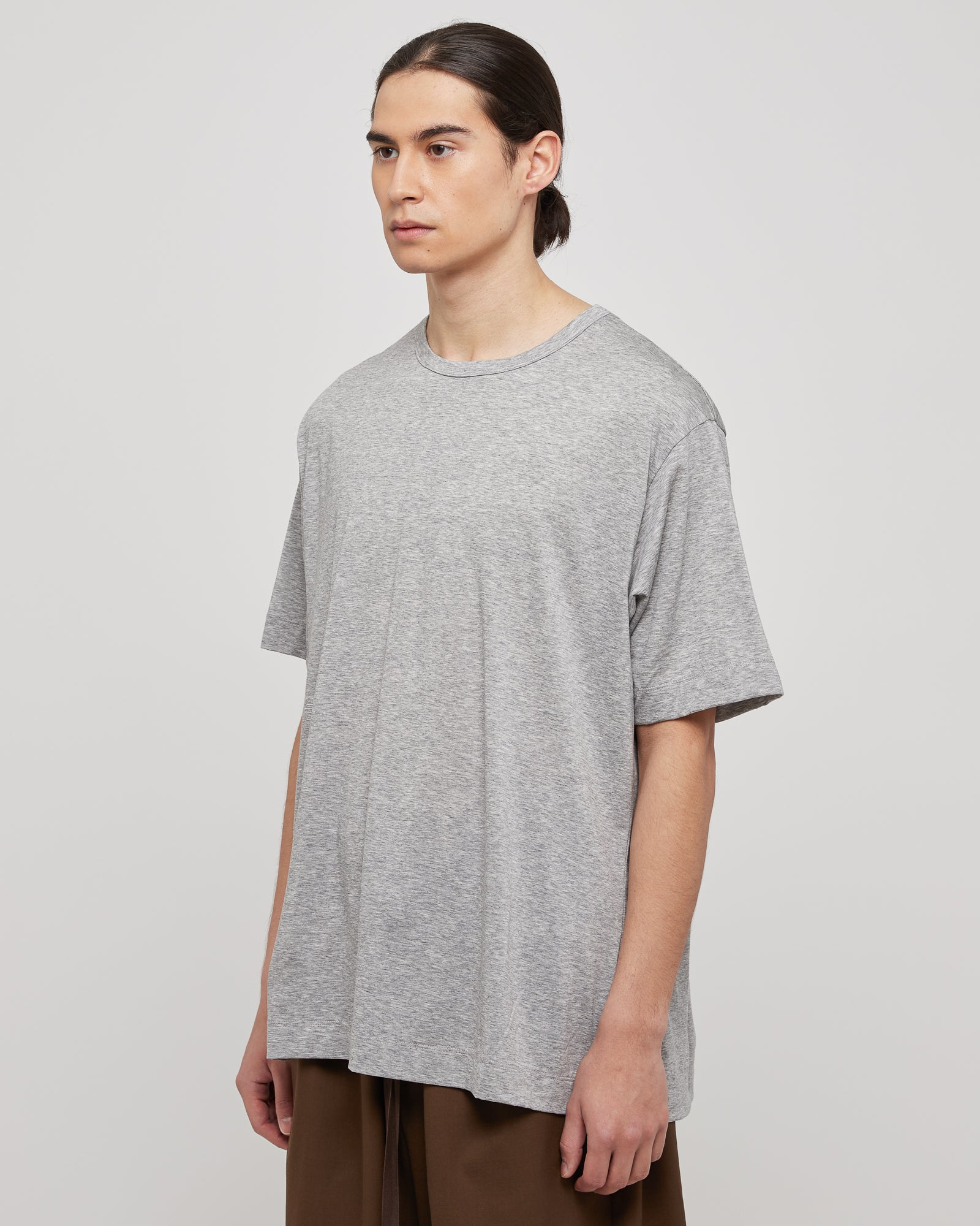 Oversized T-Shirt in Heather Gray