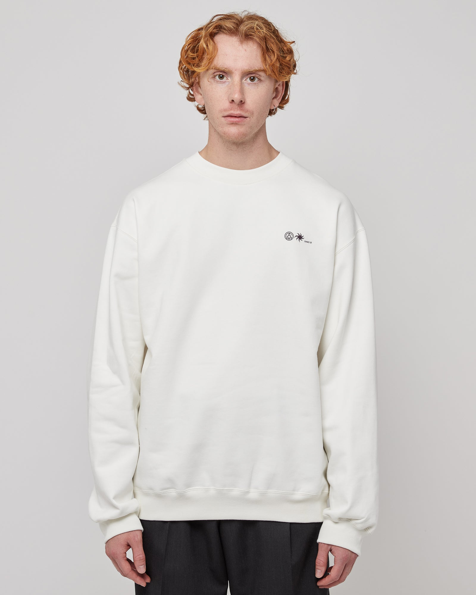 Fundament Crewneck in Off White