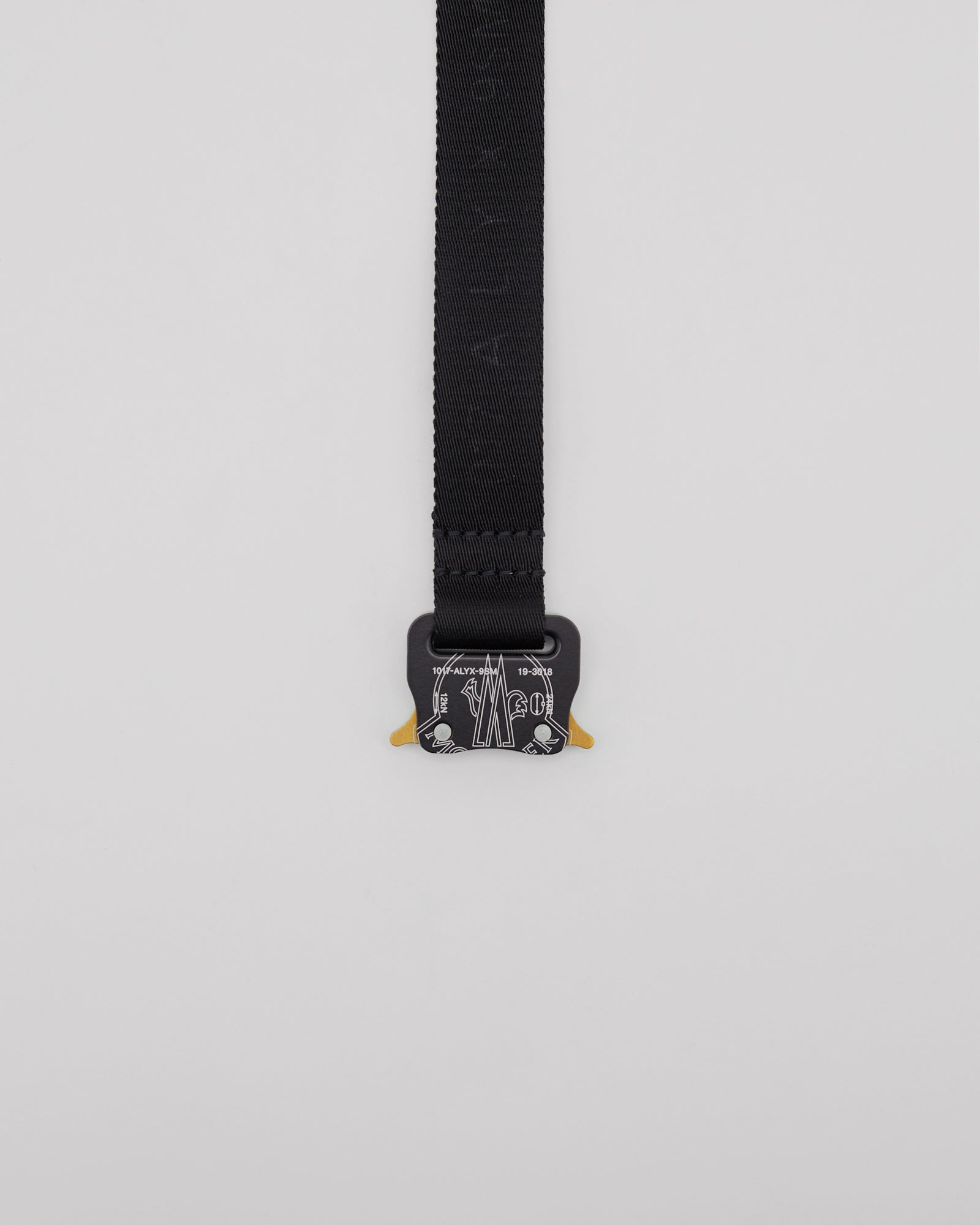 Gaiter Buckle Belt in Black