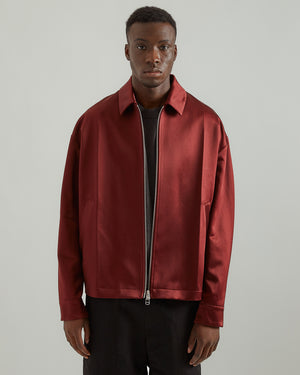 Geo Jacket in Cherry (RG Exclusive)