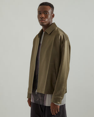 Geo Jacket in Dark Moss (RG Exclusive)