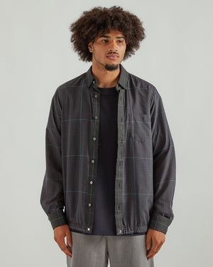 Glencheck Mix Shirt in Black