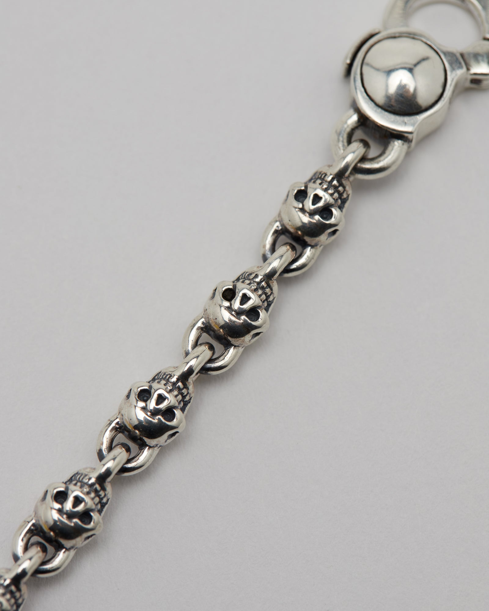 Skull Crusher Bracelet, Sterling