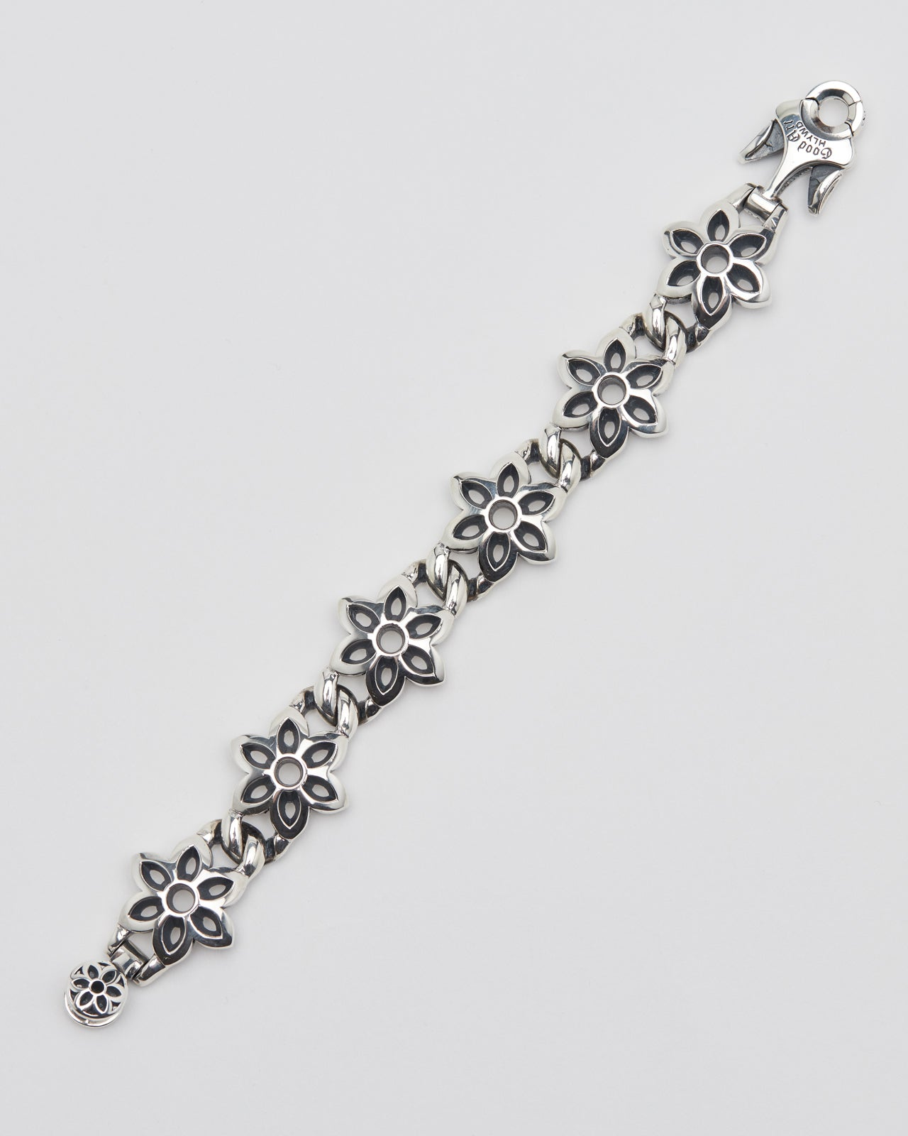 Model 10 Cutout Bracelet, AA, Sterling
