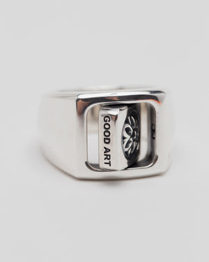 Flipiddy  Dippidy Ring, Medium, Sterling