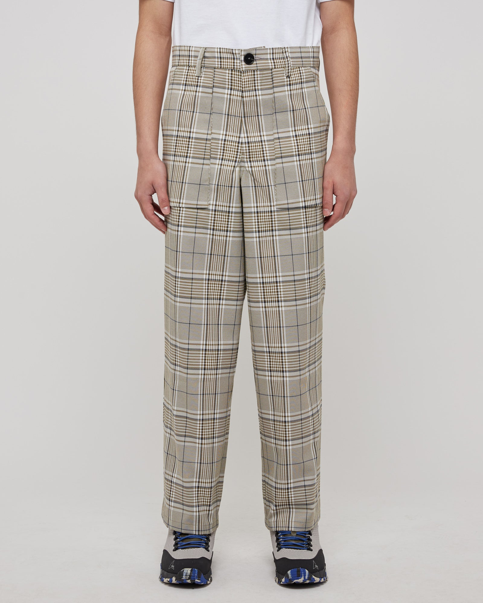Grand Tour Pant in Army Plaid