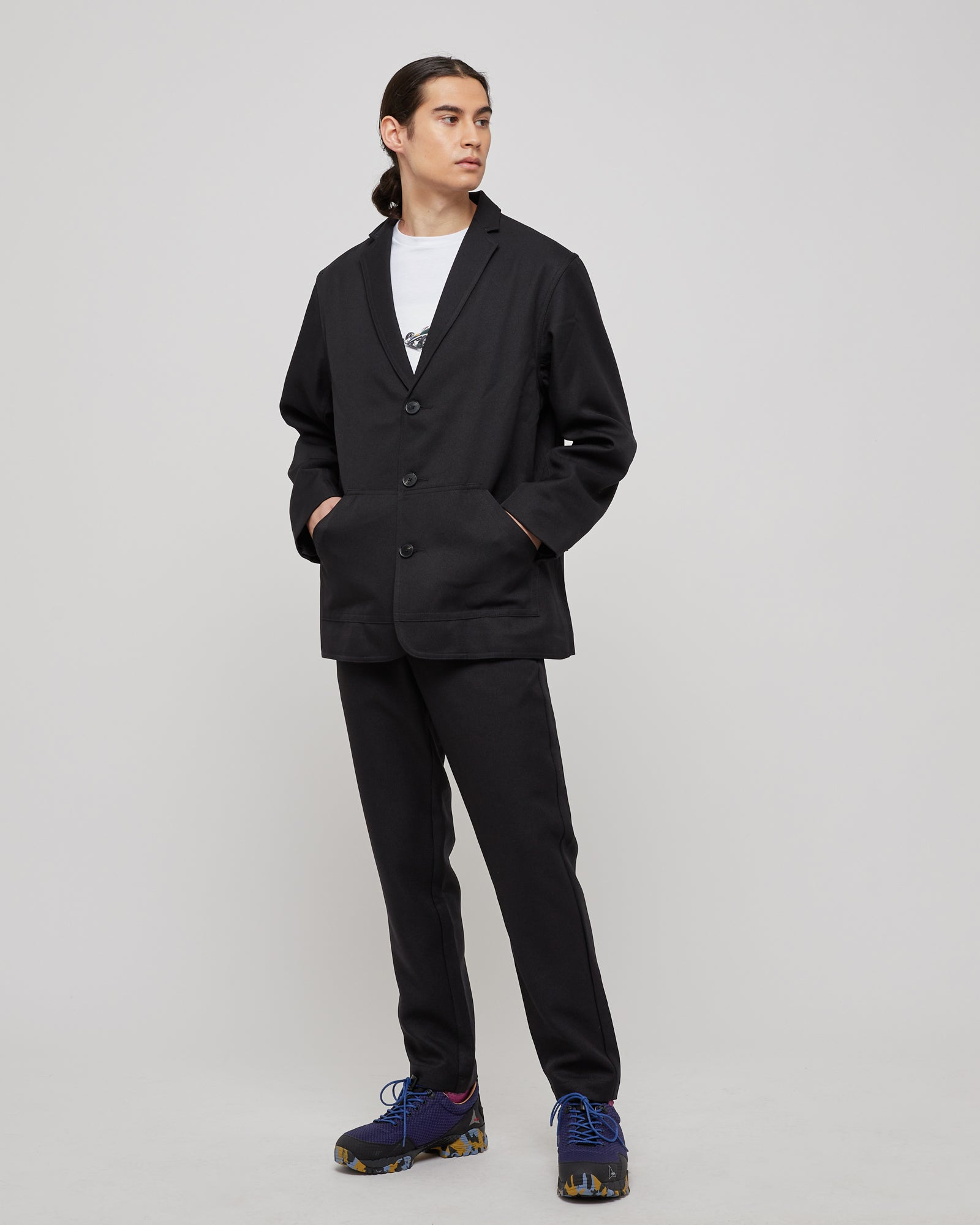 Junction Trouser in Black
