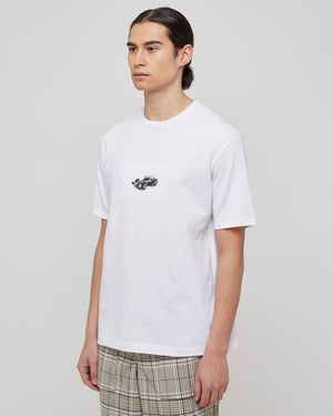 Goodfight x RG Super 1 Tee in White