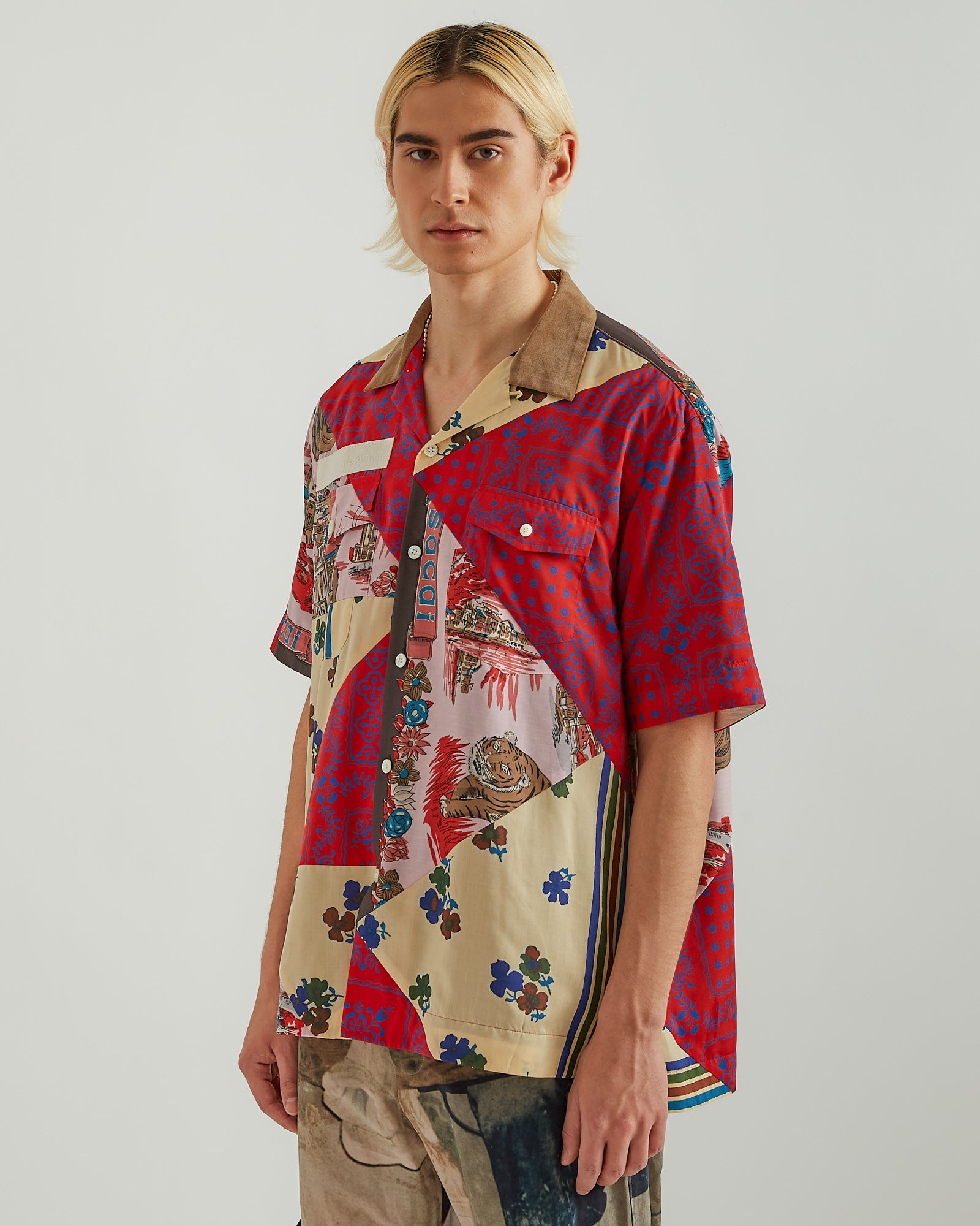 Hank Willis Thomas Edition Archive Shirt in Red Multi