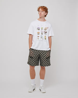 Harvest S/S T-Shirt in White
