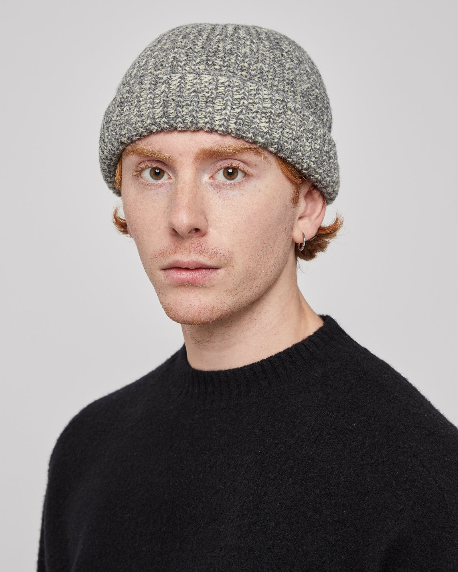 Henry Beanie in Industrial Yellow