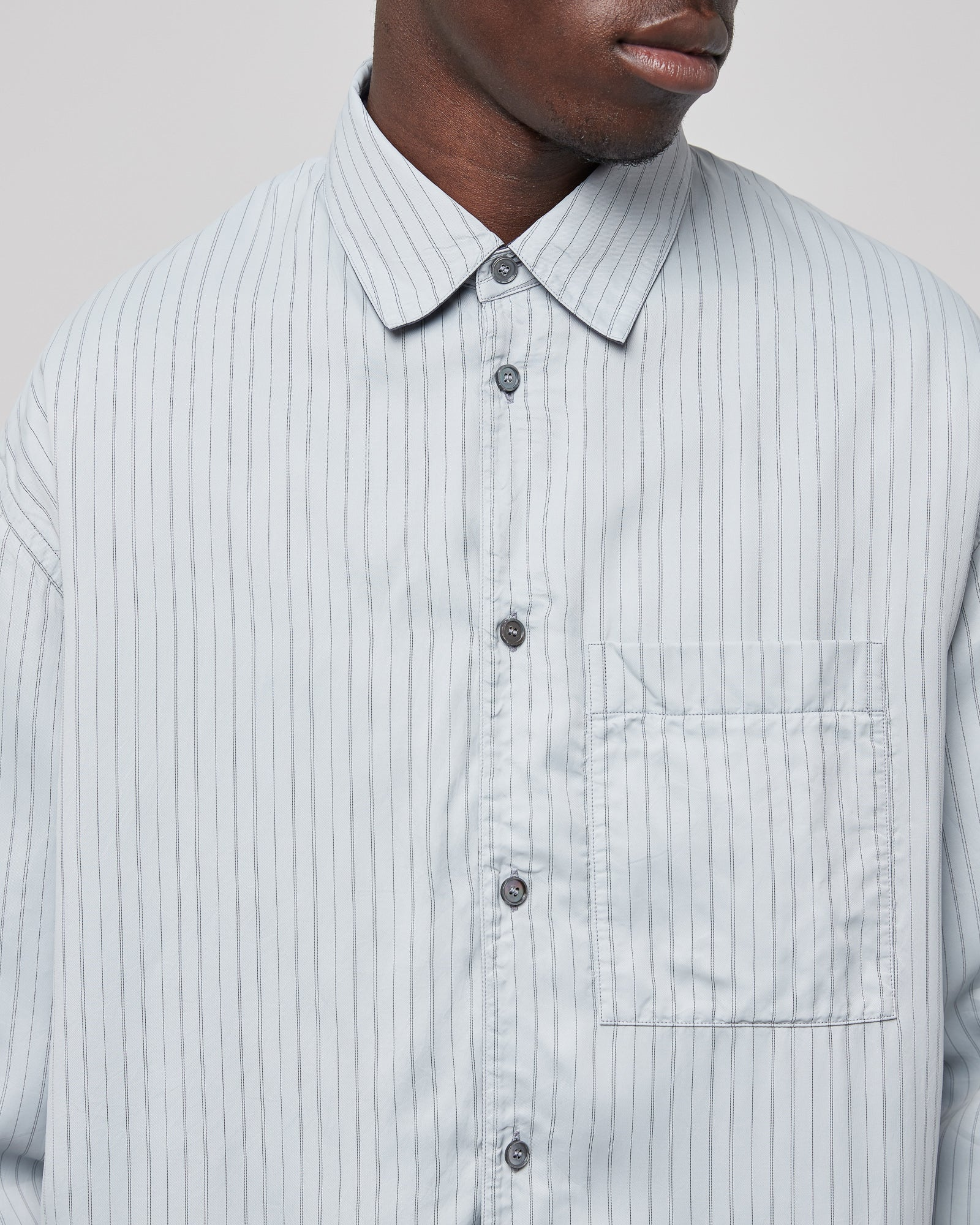 Henry Shirt in Oxford Blue