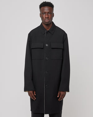 ID Coat in Black