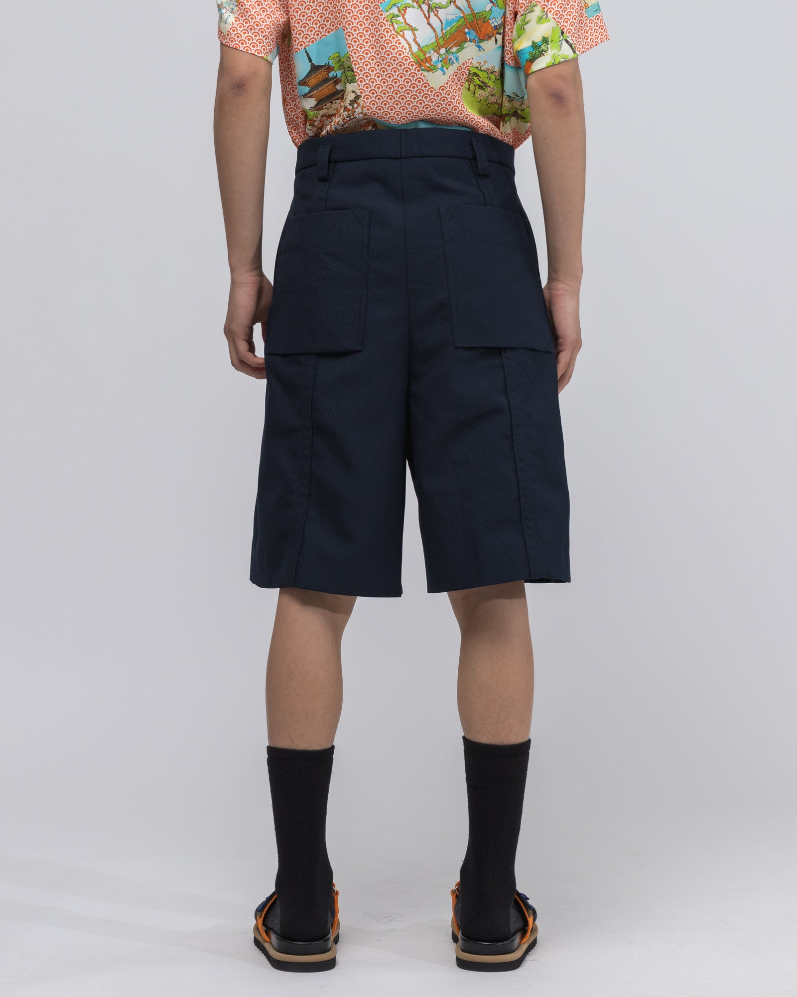 Steward Short in Dark Blue
