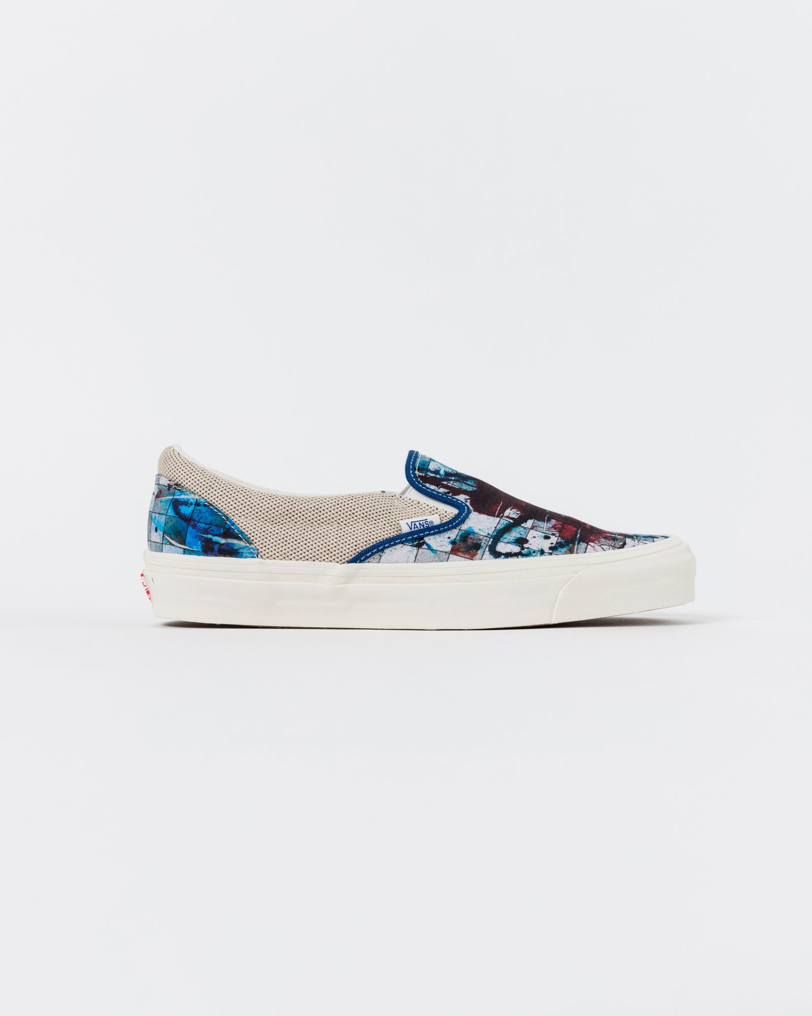 UA OG Classic Slip-On Ralph Steadman Checkerboard Splatter
