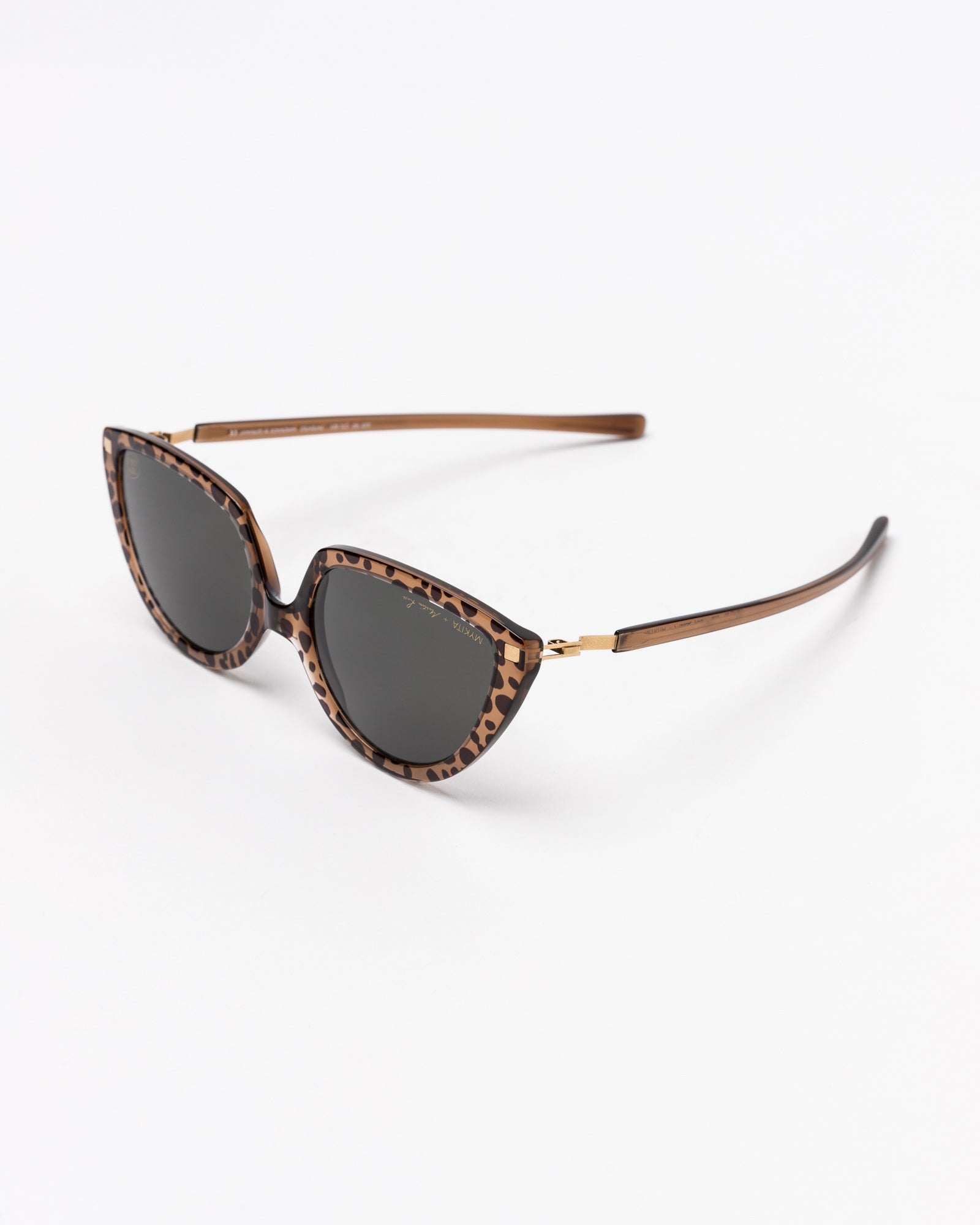 Mykita x Martine Rose Dark Gray Solid in Topaz Leopard