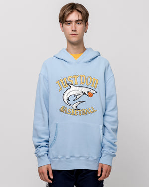 Islander Shark Hoodie in Light Blue