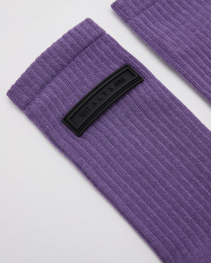 Sports Socks in Purple