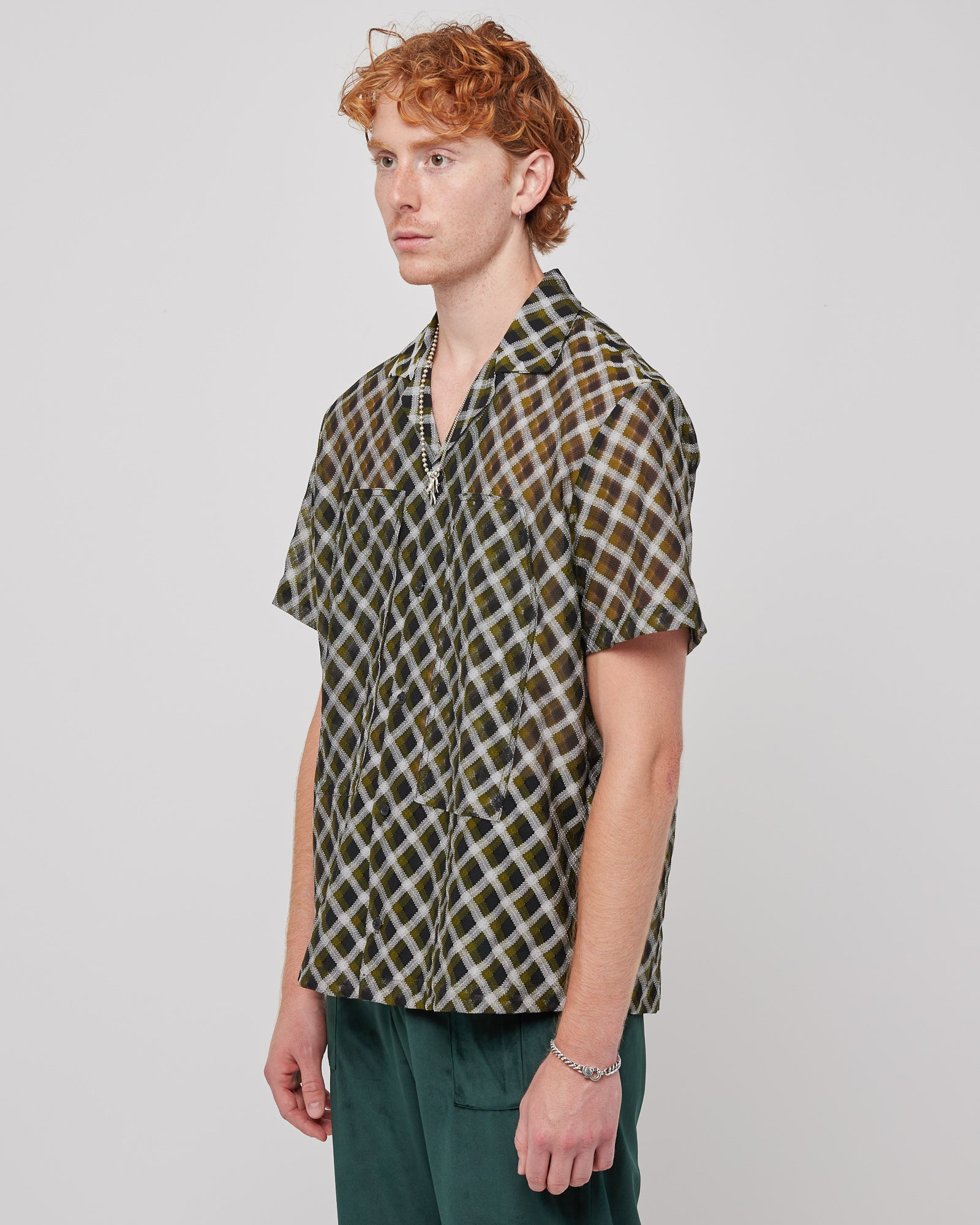 Illusion Cargo S/S T-Shirt in Green