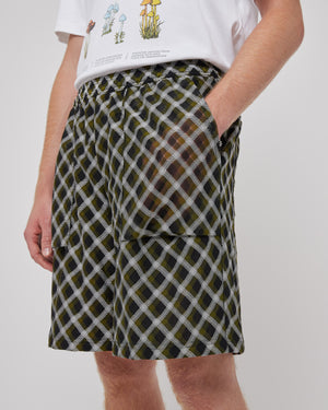 Illusion Shorts in Green