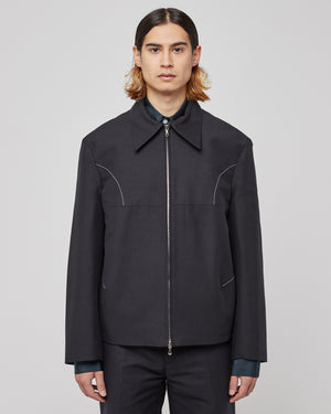 Irmgard Jacket in Black
