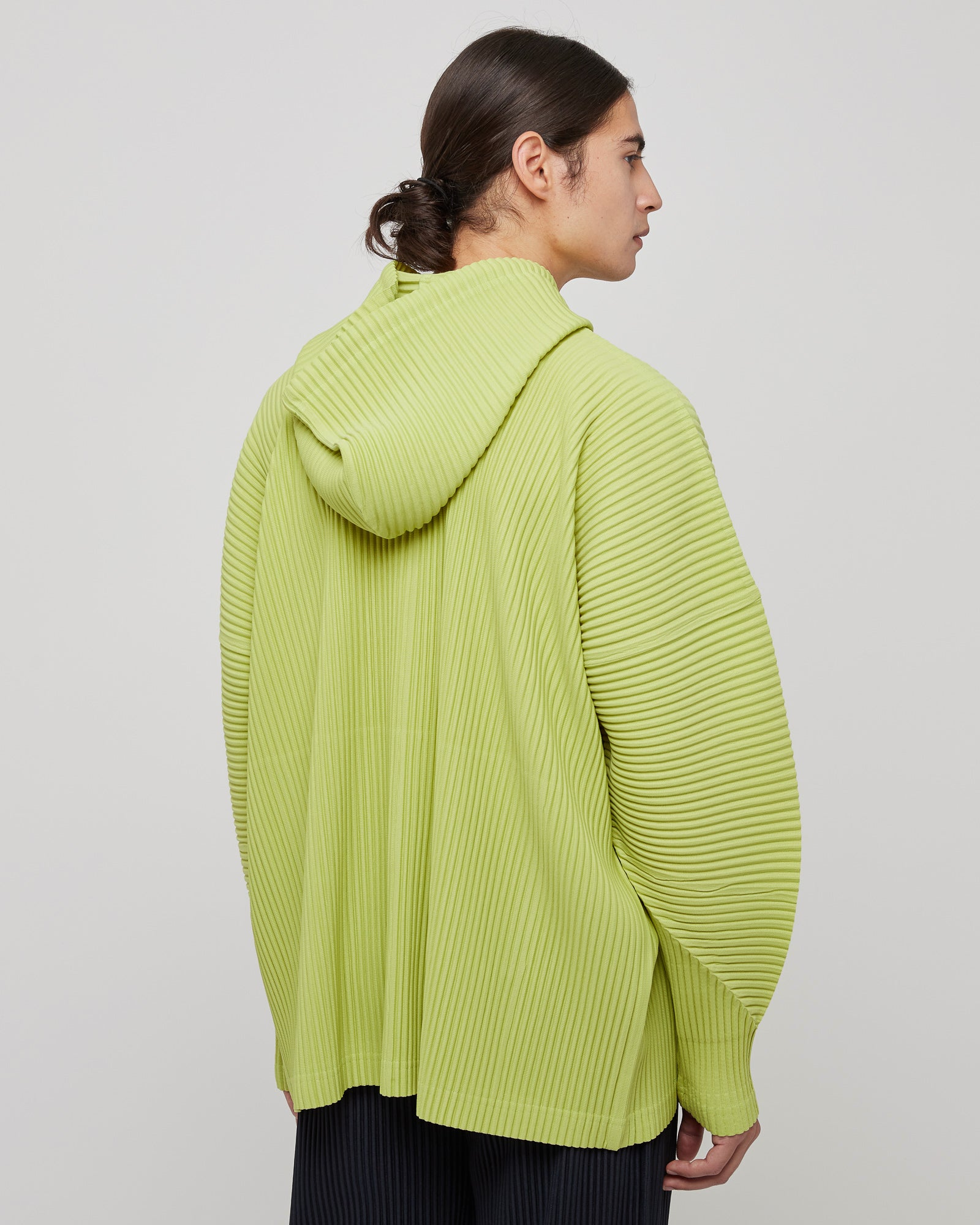 MC February Pullover in Lime Green