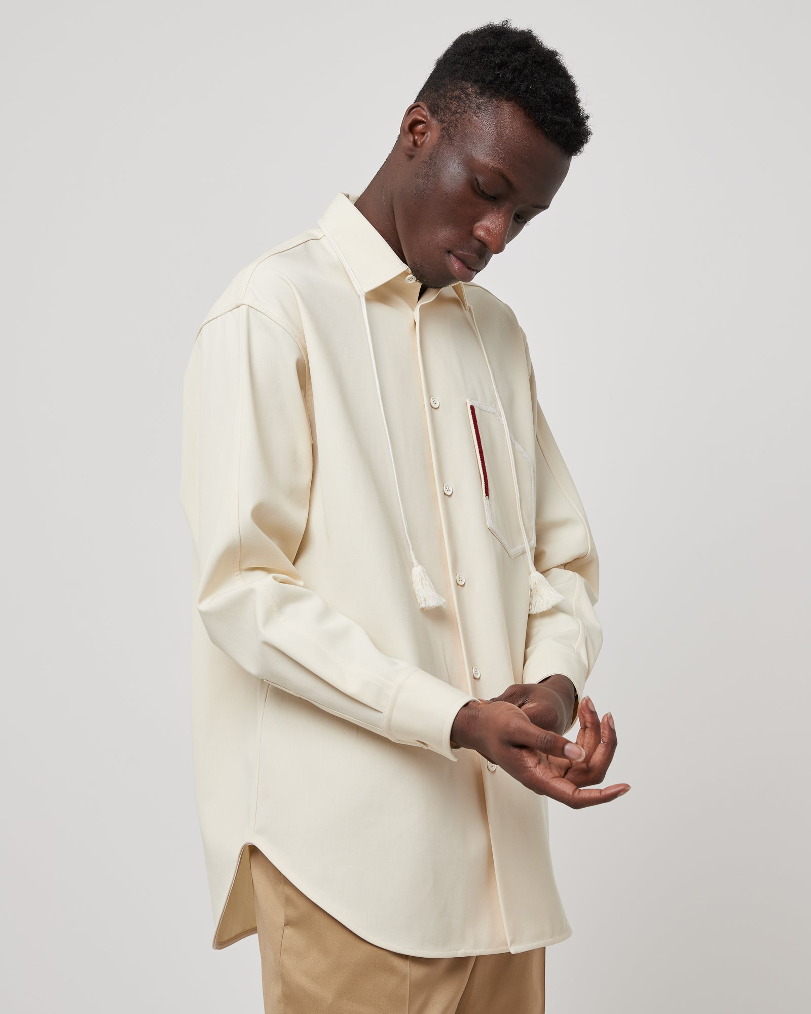 Aimil Shirt in Ivory