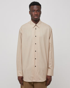 Aimil Shirt in Medium Beige
