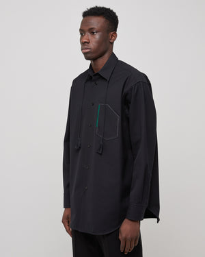 Aimil Shirt in Midnight