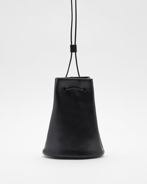 Climb Drawstring Bag in Black
