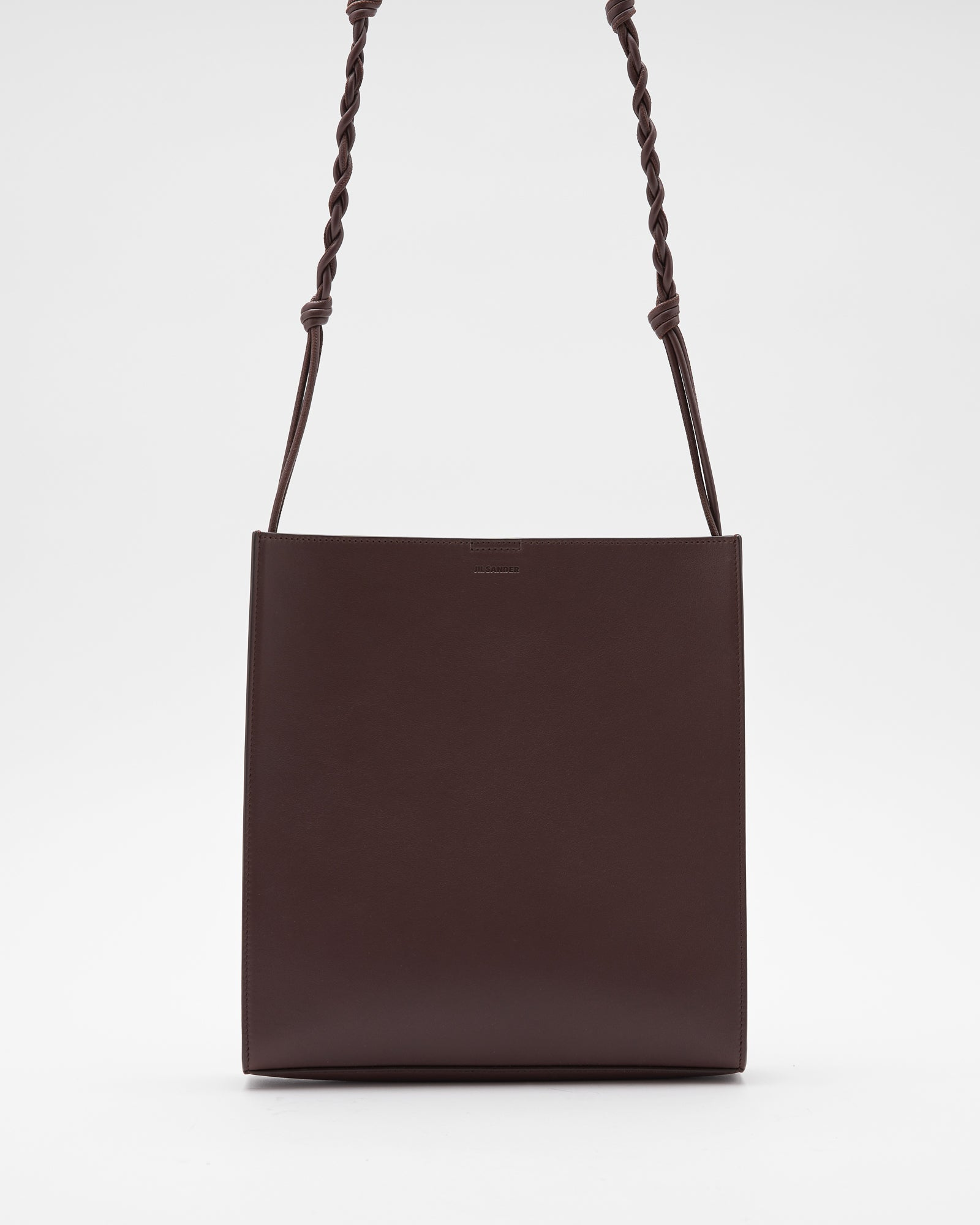 Medium Tangle Bag in Dark Brown