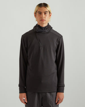 Johannes Thermal Midlayer in Black