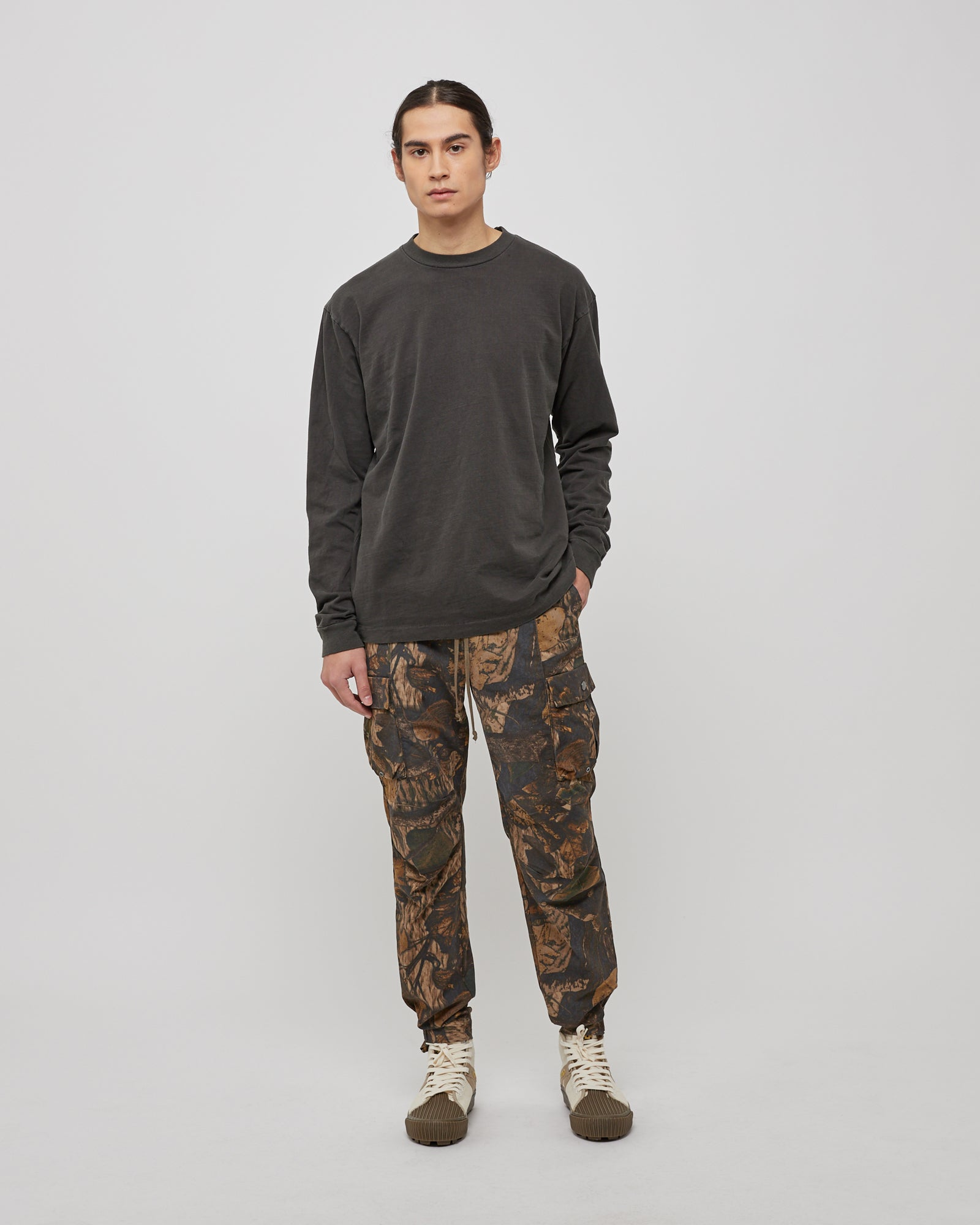 Panorama Cargo Pant in Tree Camo Brown