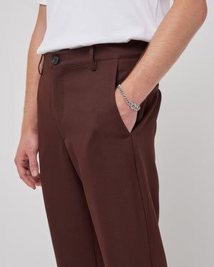 Junction Trouser in Brown