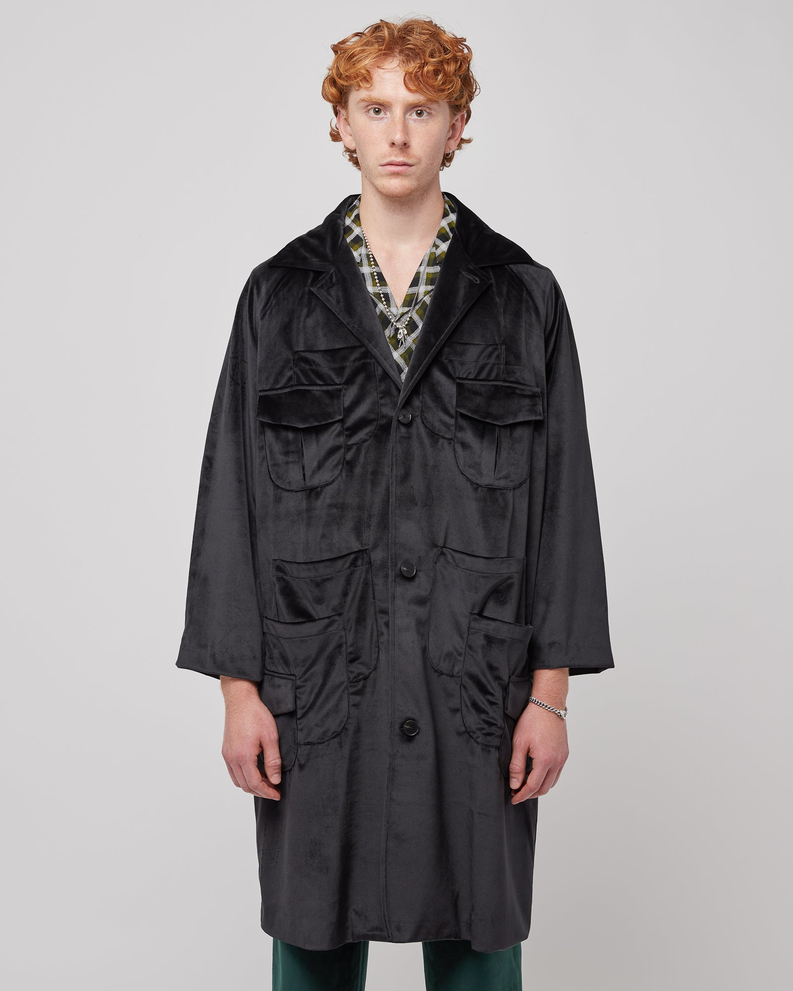 Kaleidoscope Robe in Black
