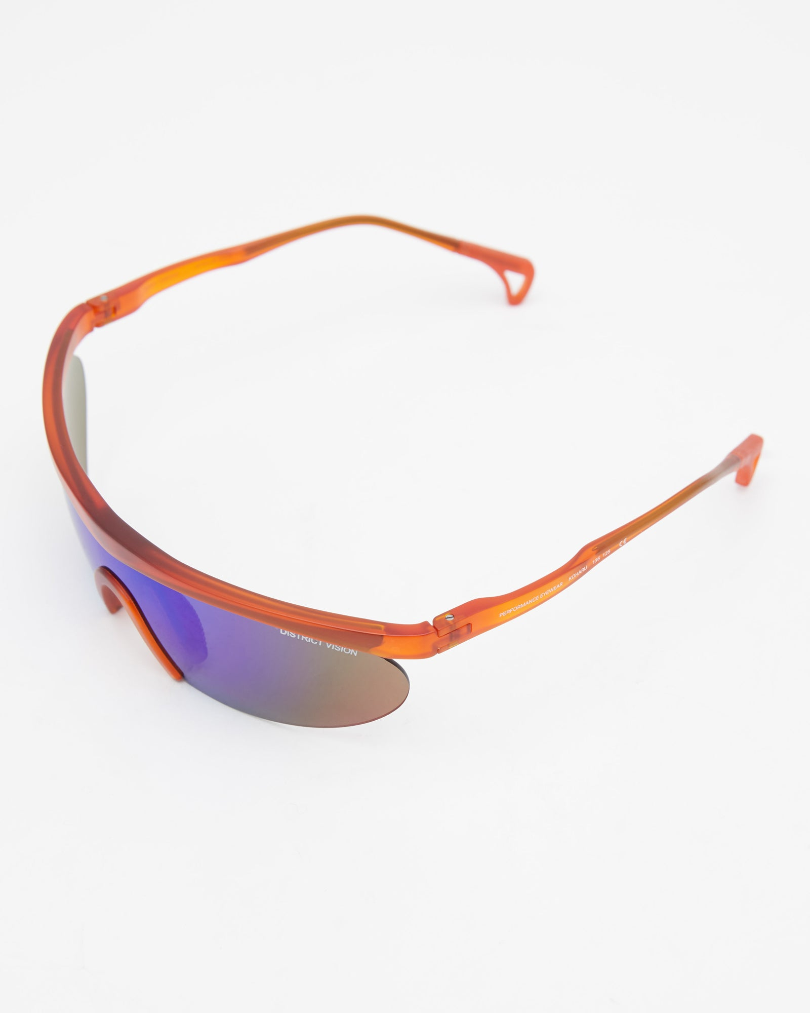 Koharu Glasses in Orange