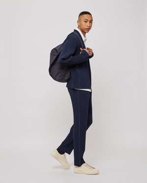 Cylinder Backpack in Navy
