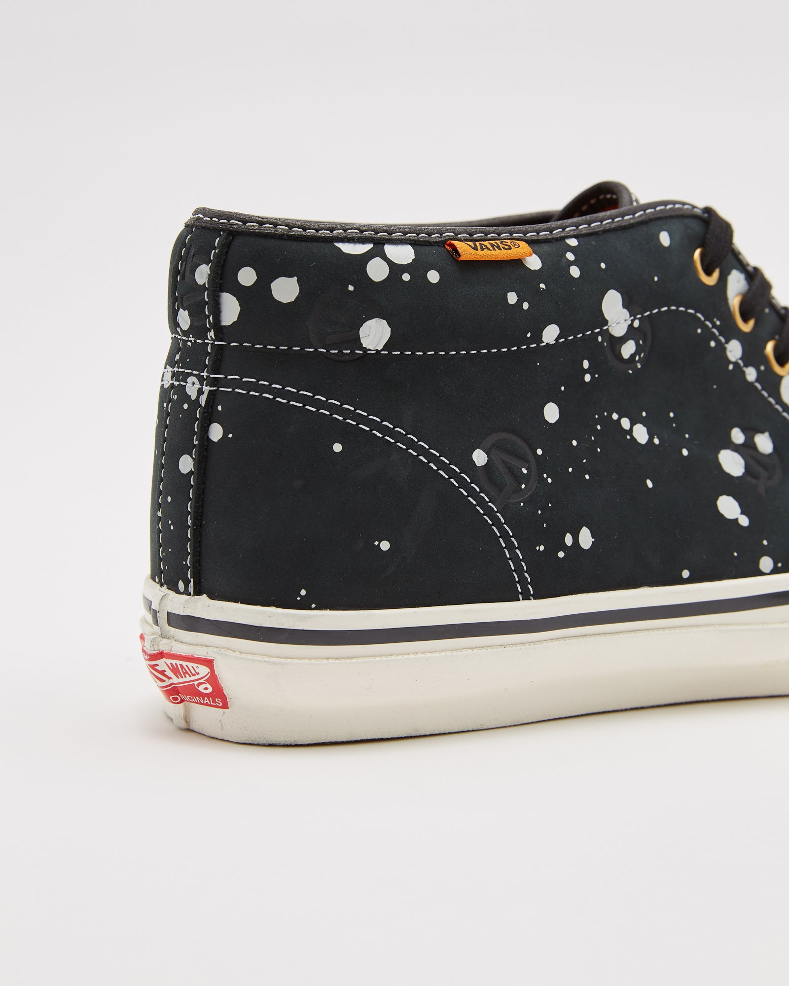 LQQK Studio UA OG Chukka Boot LX in Splatter Black
