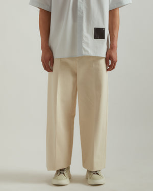 Lab Pant in Natural White
