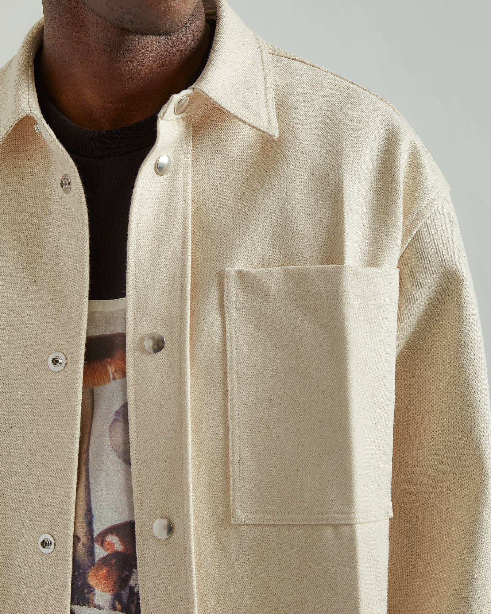 Lab Shirt in Natural White